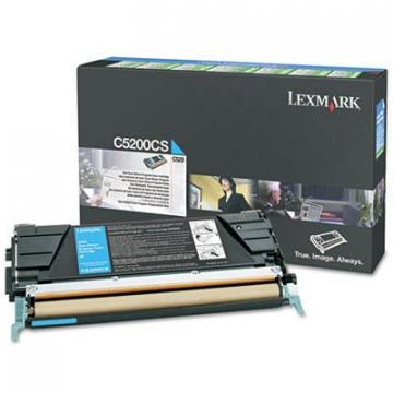 Lexmark C5200CS Cyan Toner Cartridge