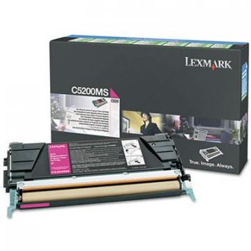 Lexmark C5200MS Magenta Toner Cartridge