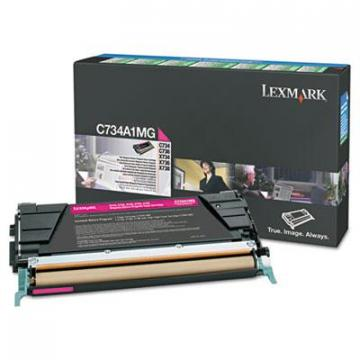 Lexmark X746A1MG Magenta Toner Cartridge