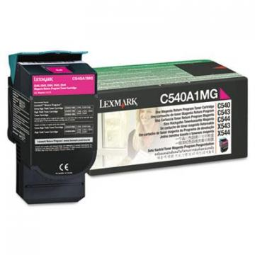 Lexmark C540A1MG Magenta Toner Cartridge