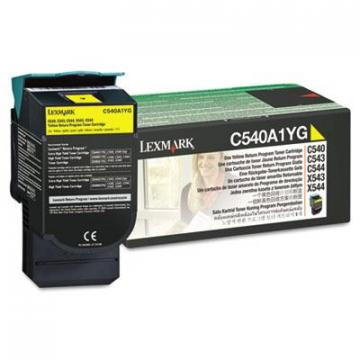 Lexmark C540A1YG Yellow Toner Cartridge