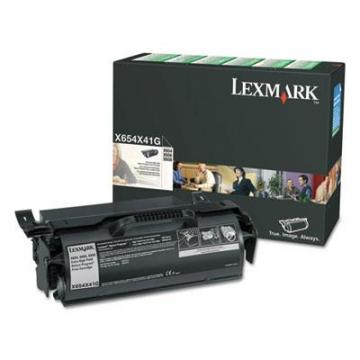 Lexmark X654X41G Black Toner Cartridge