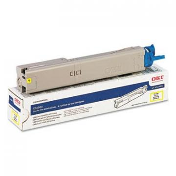 OKI 43459301 Yellow Toner Cartridge