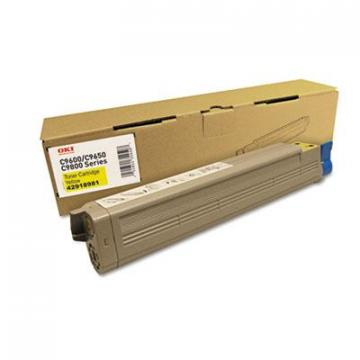 OKI 42918981 Yellow Toner Cartridge
