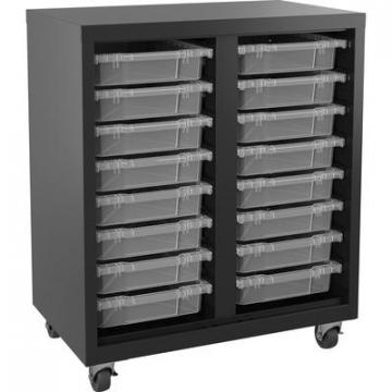 Lorell 71101 Pull-out Bins Mobile Storage Unit