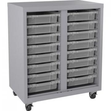 Lorell 71102 Pull-out Bins Mobile Storage Unit