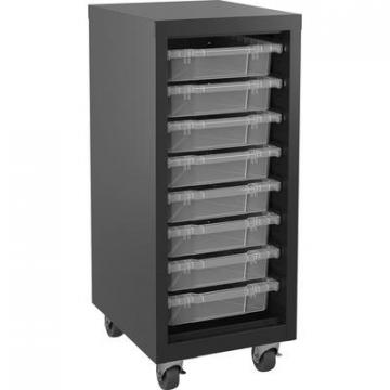 Lorell 71104 Pull-out Bins Mobile Storage Tower