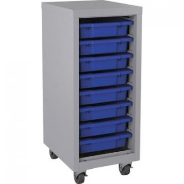 Lorell 71106 Pull-out Bins Mobile Storage Tower