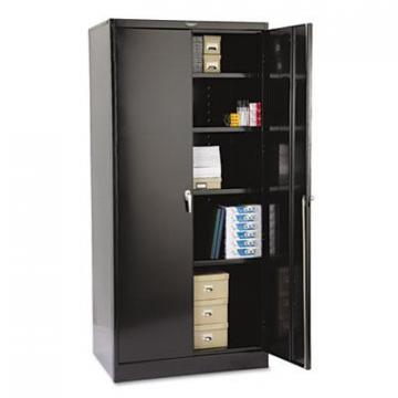 "Tennsco 2470BK 78"" High Deluxe Cabinet"