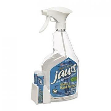 AbilityOne 7930016005747, JAWS Glass/Hard Surface Cleaner, Unscented, 6 Bottles/12 Refills
