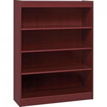 Lorell 60072 Panel End Hardwood Veneer Bookcase