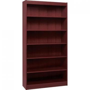 Lorell 60075 Panel End Hardwood Veneer Bookcase