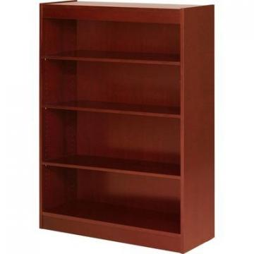 Lorell 89052 Four Shelf Panel Bookcase