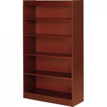Lorell 89053 Five Shelf Panel Bookcase