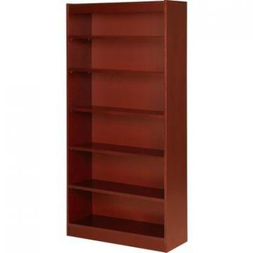 Lorell 89054 Six Shelf Panel Bookcase