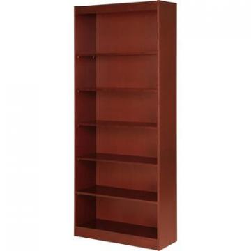 Lorell 89055 Six Shelf Panel Bookcase
