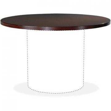 "Lorell 87825 46"" Round Table Top"