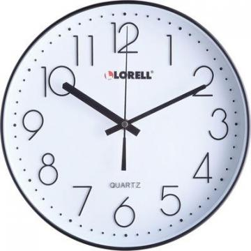 "Lorell 61011 12"" Quiet Wall Clock"