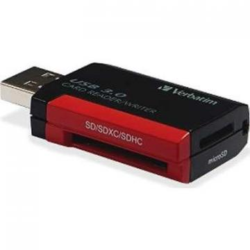 Verbatim Pocket Card Reader USB 3.0 - Black