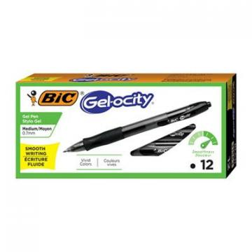 BIC RLC11BK Gel-ocity Retractable Gel
