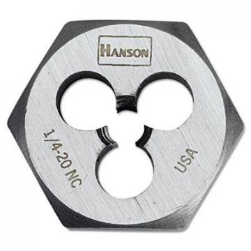 IRWIN HANSON High-Carbon Steel Fractional Hexagon Die 6520