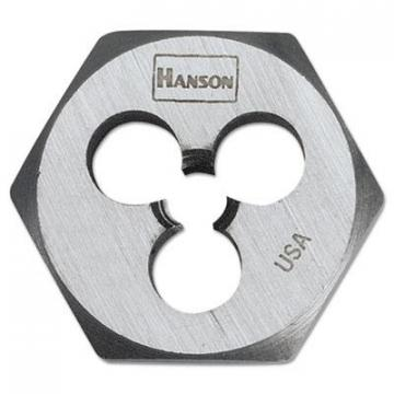 IRWIN HANSON High-Carbon Steel Fractional Hexagon Die 6534