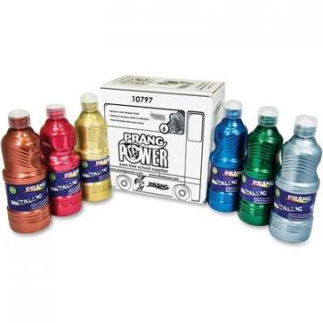 Prang Power Metallic Paint Set (10797)
