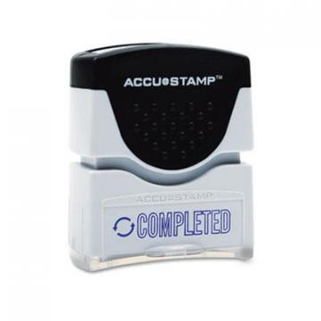 AbilityOne 3246955 Pre-inked Blue Completed Message Stamp