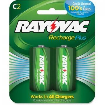 Rayovac PL7142GENE Recharge Plus C Batteries
