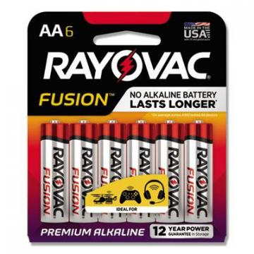 Rayovac 8156FUSK Advanced High Energy Alkaline Batteries