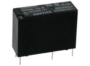 Omron Miniature power relay, 1 NO, 24 VDC, 5 A