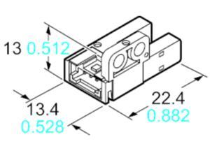 Panasonic Photo electric sensor PM-R65W-P