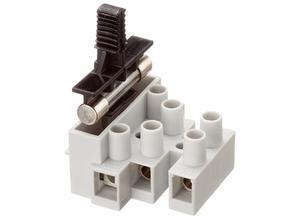 Adels-Contact Terminal with fuse holder, Adels-Contact 1003 Si/2 DS, 2-pole, with wire protection