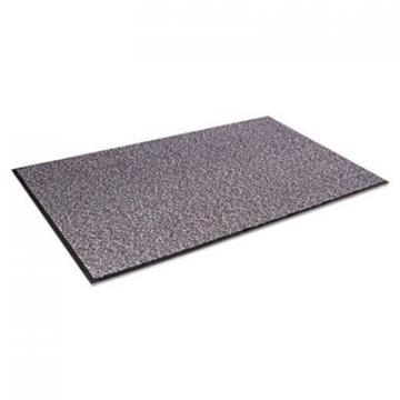 Crown Cordless Stat-Zap Carpet Top Mat, Polypropylene, 36 x 60, Pewter (SPNC35PE)