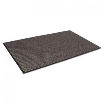 Crown Oxford Elite Wiper/Scraper Mat, 36 x 60, Black/Brown (OE0035BR)