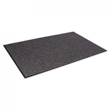 Crown Oxford Wiper Mat, 48 x 72, Black/Gray (OXH046GY)