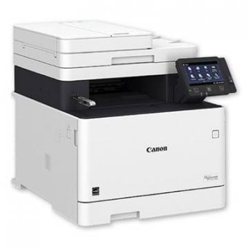 Canon Color imageCLASS MF743Cdw Wireless Multifunction Laser Printer, Copy/Fax/Print/Scan (3101C011)