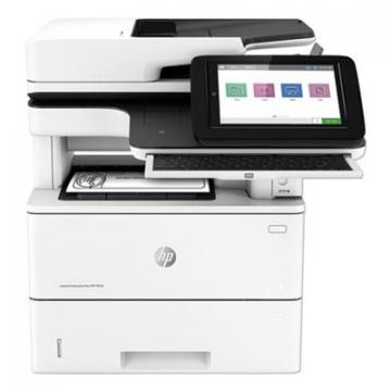 HP LaserJet Enterprise Flow MFP M528c Multifunction Laser Printer, Copy/Fax/Print/Scan (1PV66A)