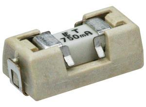 Littelfuse SMD fuse holder with fuse, SMD, 0.5 A, T