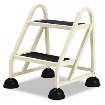 "Cramer Two-Step Stop-Step Aluminum Ladder, 23"" High, Beige (102019)"