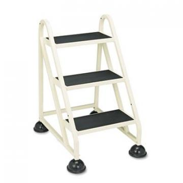 "Cramer Three-Step Stop-Step Aluminum Ladder, 32 3/4"" High, Beige (103019)"