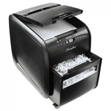 GBC Stack-and-Shred 80X Auto Feed Cross-Cut Shredder, 80 Auto/6 Manual