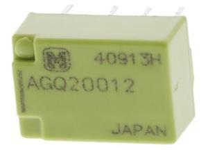 Panasonic Miniature signal relay, 2 changeover, 24 VDC, 2 A