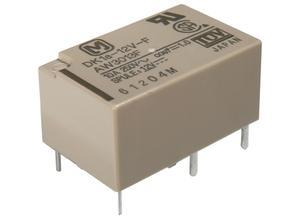 Panasonic Miniature power relay, 1 NO, 1 NC, 5 VDC, 8 A