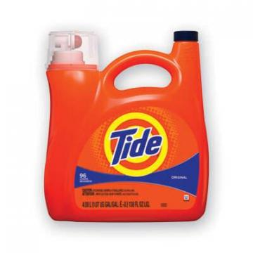 Tide Liquid Laundry Detergent, Original, 150 oz Pump Dispenser, 4/Carton (40367)