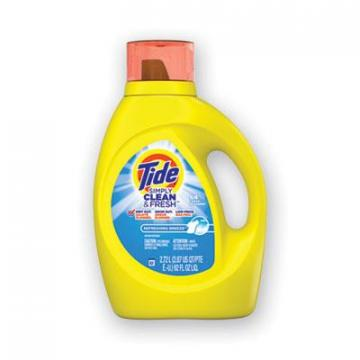 Tide Simply Clean & Fresh Laundry Detergent, Refreshing Breeze, 100 oz Bottle (44206EA)