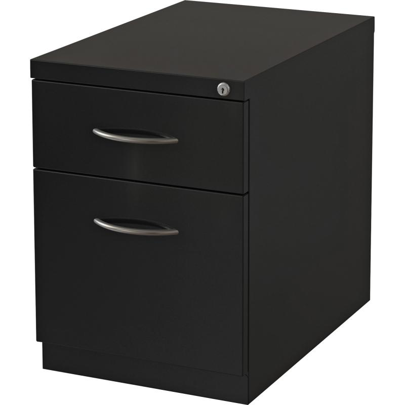 Lorell Premium Mobile BF Pedestal File - 2-Drawer 79133