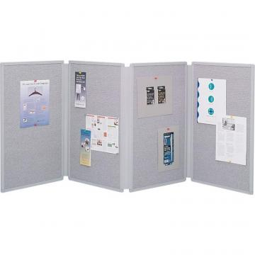 Quartet 4 Panel Tabletop Display Board