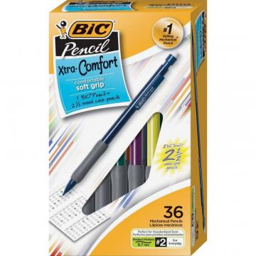BIC Matic Grip Mechanical Pencils MPG36BK