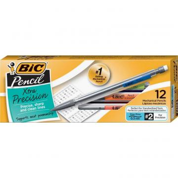 BIC Refillable Mechanical Pencils MPF11-BK